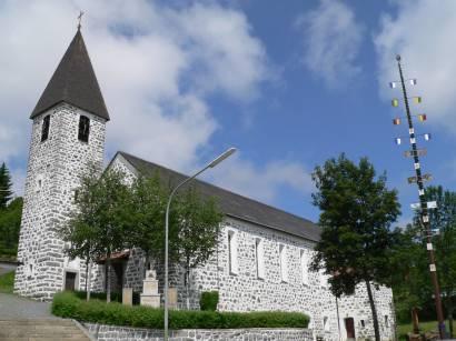 Pfarrkirche von Philippsreut Bayerischer Wald