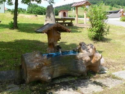 Brunnen bei der Tussetkapelle