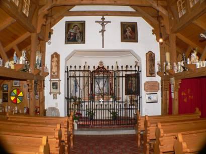 historische Tusset Kapelle Philippsreut Bayerischer Wald