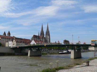 Tagesausflüge und Städtereisen Regensburg an der Donau in Bayern