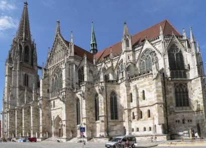 Regensburg Bilder und Fotos vom Dom St. Peter historisches Bauwerk in Bayern