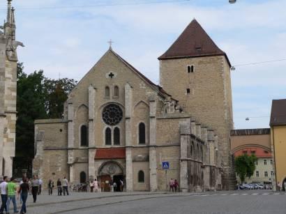 Kirche Sankt Ulrich beim Regensburger Dom