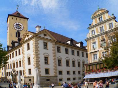 STadt Regensburg Sehenswürdigkeiten Ausflugsziele Innenstadt Bilder Fotos