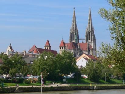 Bilder und Fotos Regensburg Ausflugsziel und Sehenswürdigkeit in Bayern