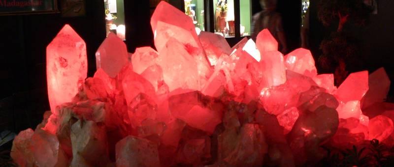 Kristallmuseum Riedenburg im Altmühltal Bergkristallgruppe
