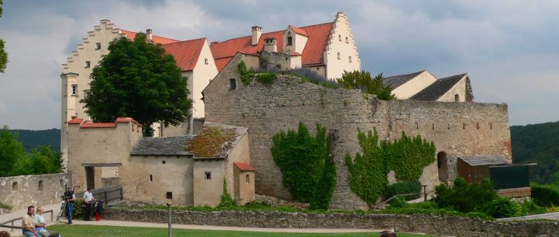 Schloss Rosenburg in Riedenburg Altmühltal in Bayern