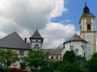 Pfarrkirche in Rinchnach