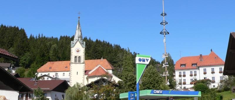 Wintersport Ort Sankt Englmar Bayerischer Wald