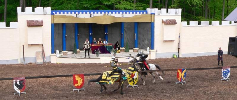 Ritterspiele in Deutschland Ritterturnier in Bayern