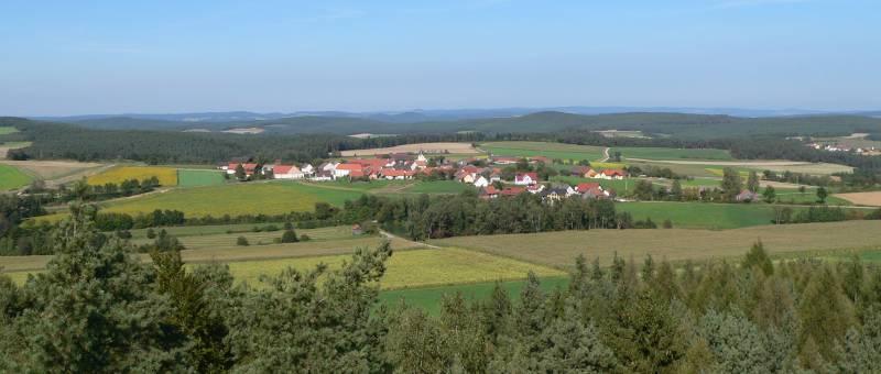 Aussichtsturm im Landkreis Schwandorf nähe Neunburg vorm Wald