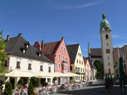 Schwandorf Germany Oberpfalz-ausflugsziel-stadtplatz-kirche