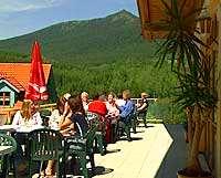 Hotel mit Berg Panoramablick in Lohberg