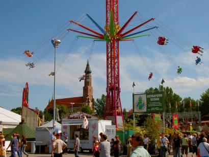 Gäubodenfest in Straubing in Niederbayern - Bilder und Fotos vom Volksfest