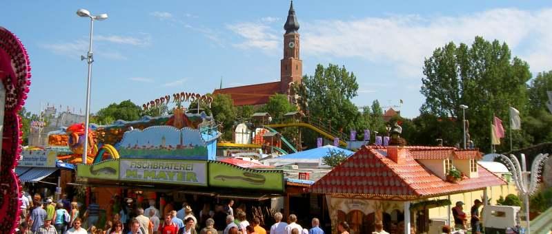 Gäubodenvolksfest in Straubing - 2. größtes Volksfest in Bayern Gäubodenfest Straubing