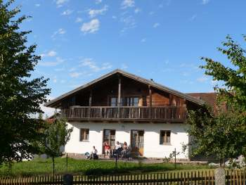 Oberpfälzer Waidlerhaus in Bayern im Landkreis Cham / Bayerischer Wald