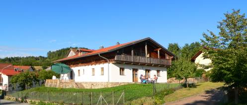 Waidlerhaus in Bayern im Bayerischen Wald / Oberpfalz