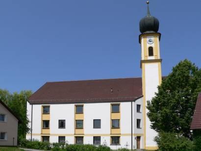 Wiesent an der Donau - Pfarrkirche in Wiesent