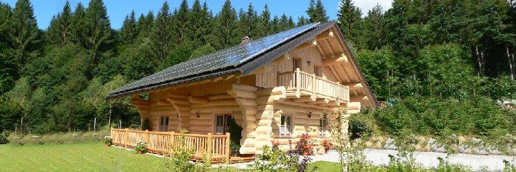 Alexandra Ferien Blockhaus in Bayern Blockhausurlaub
