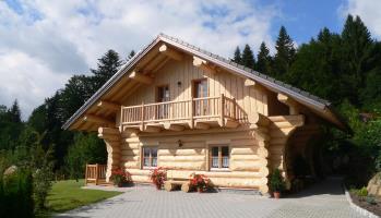 Urlaub im Blockhaus Bayern