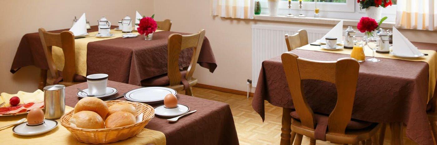 Pensionen und Gasthöfe in Mittelfranken Zimmer mit Frühstück