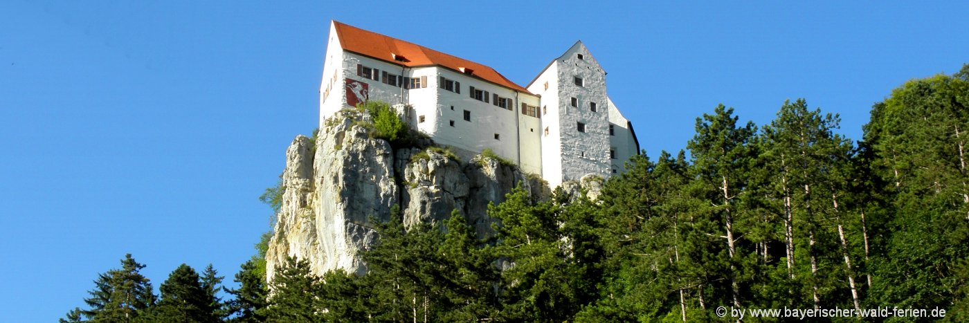 Sehenswürdigkeiten im Altmühltal Burg Prunn in Bayern Ausflugsziel