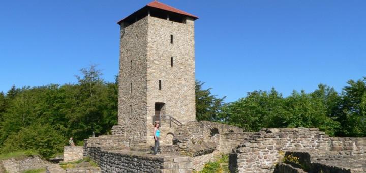 altnussberg-burgruine-ausflugsziele-bayerischer-wald-aussichtsturm