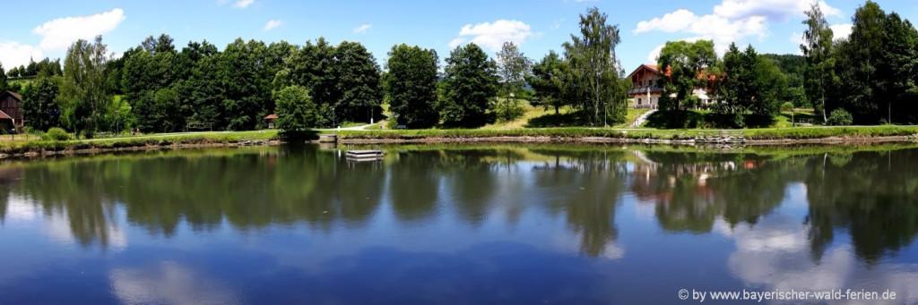 Bayerischer Wald Romantik Urlaub für 2 - Seen in Bayern