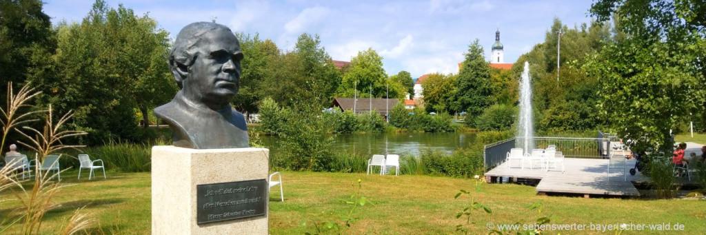 Kötztinger Kurpark Übernachtung in Bad Kötzting und Umgebung
