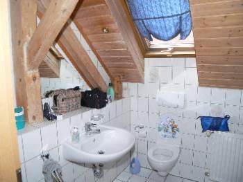 Badezimmer der Ferienwohnungen in Amberg