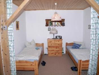Schlafzimmer im Ferienhaus Oberpfälzer Wald