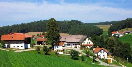 Ansicht Bauernhof Kerscher in Eidengrub im Bayerischen Wald
