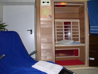Sauna und Ruhebereich Wellnessurlaub Ostbayern