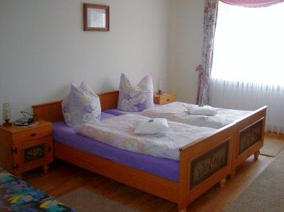 Schlafzimmer der Bauernhof Ferienwohnungen bei Oberviechtach