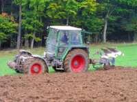 erlebnisreichen Urlaub am Bauernhof - traktor feldarbeit