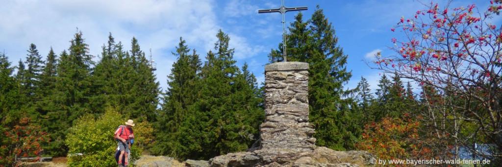 bayerischer-wald--bergwandern-falkenstein-nationalpark-gipfel
