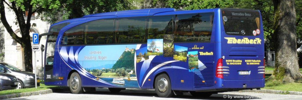 Bayerischer Wald Urlaubsreise planen Busreisen oder Auto