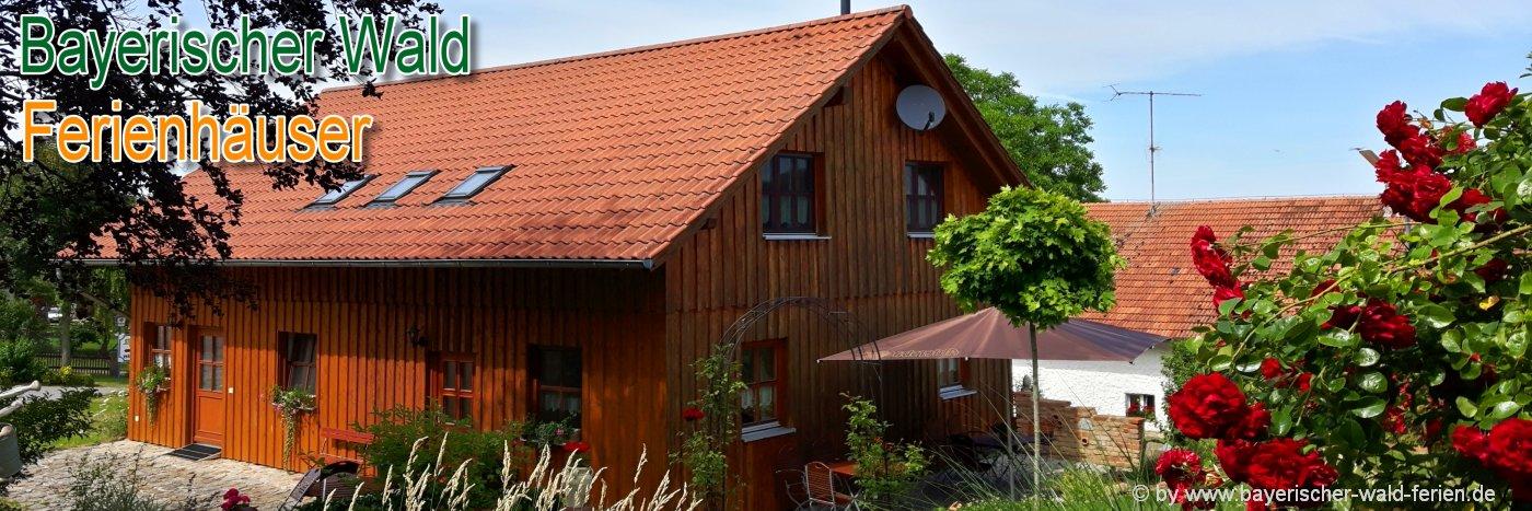 Bayerischer Wald Ferienhäuser zum Alleinbewohnen in Deutschland