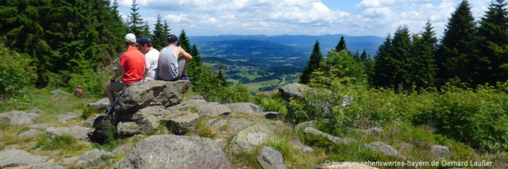 günstige Bayerischer Wald Pensionen Übernachtung mit Frühstück und wandern