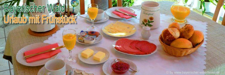 bayerischer-wald-frühstück-zimmer-übernachtung-halbpension