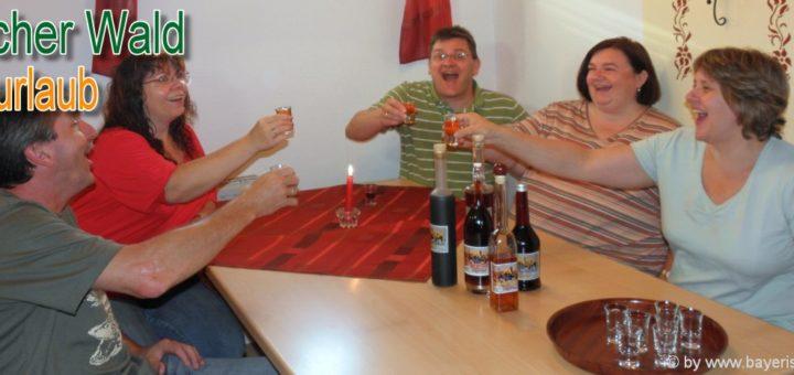 bayerischer-wald-gruppenurlaub-erlebnisurlaub-schnapsprobe