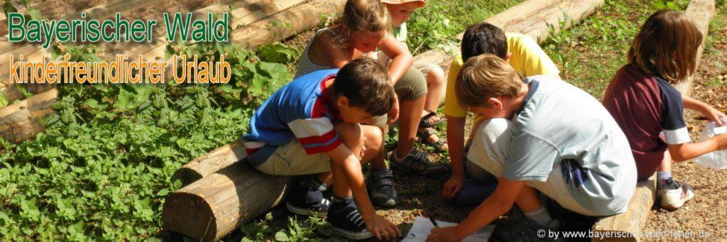 Bayerischer Wald Familienferien und Kinderurlaub Unterkunft