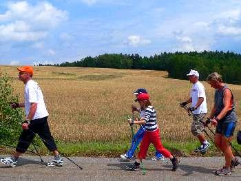 Wandern, Nordic-Walking Ferienwohnung im Bayerischen Wald