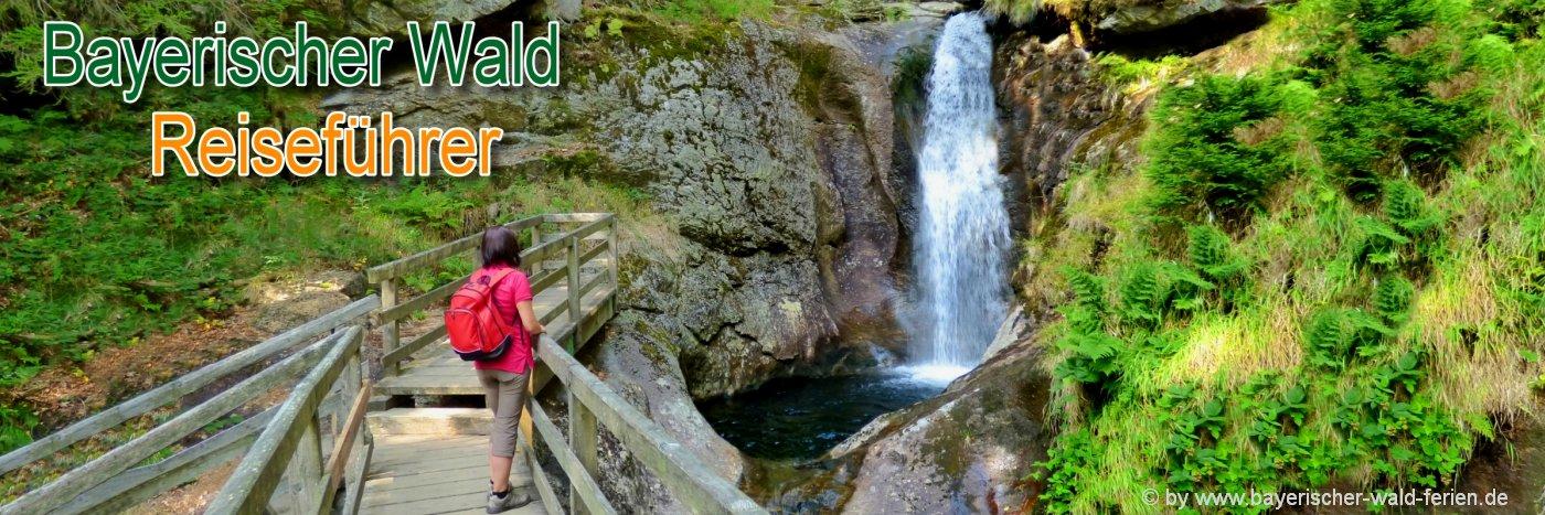 bayerischer-wald-reiseführer-bayern-highlights-wasserfall