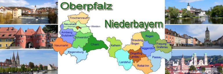 bayerischer-wald-unterkunft-niederbayern-landkarte-oberpfalz