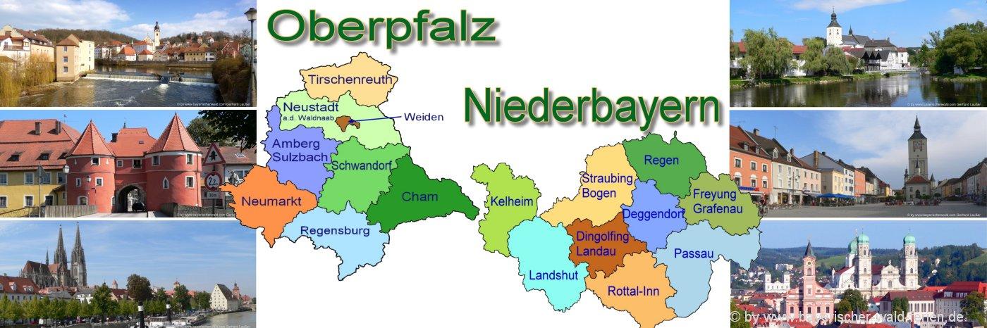 Dreiländereck Bayerischer Wald Karte.Bayerischer Wald Karte Bayern Landkarte Straßenkarte Wanderkarte