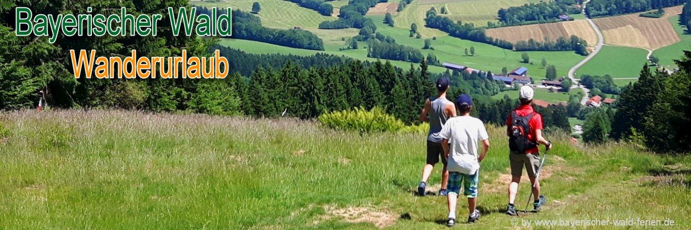 Wanderurlaub im Bayerischen Wald Wandertouren und Bekleidung Tipps