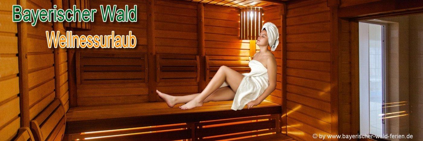 Bayerischer Wald Wellnesshotels mit 3 bis 4 Sterne Wellness Angebote wie Sauna und Massagen