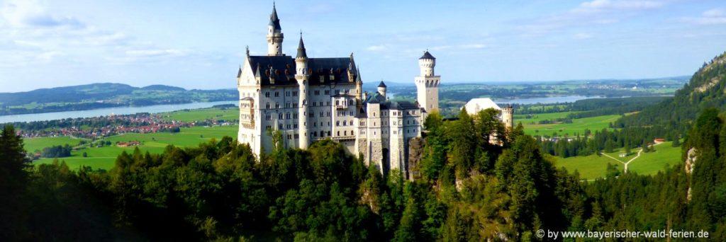 Beste Reisezeit für Urlaub in Bayern Sommer oder Winter