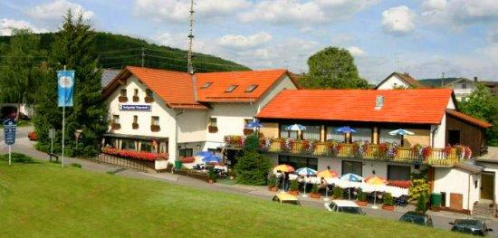 Landgasthof in Deutschland im schönen Bayern / Bayerischer Wald