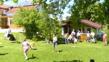 Bauernhofurlaub für die ganze Familie